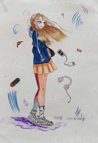 马翊馨 Yixin Ma – Age 9 – China – Available
